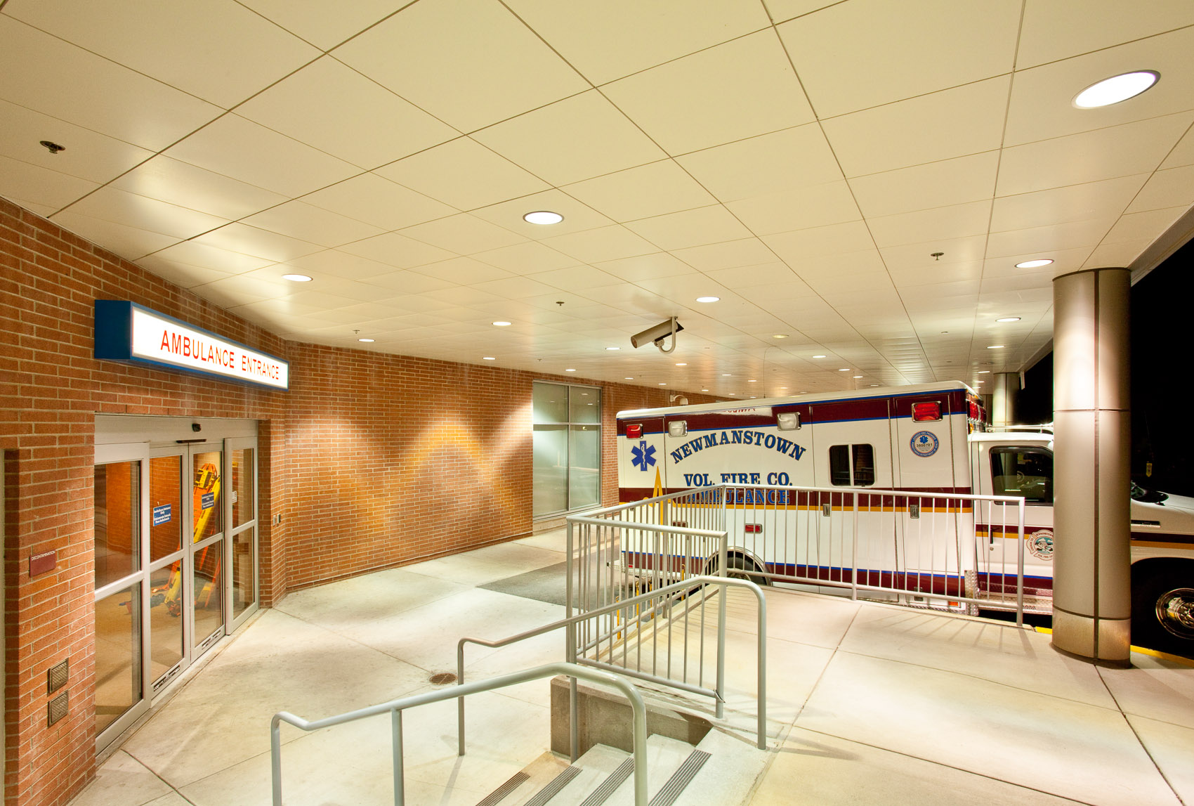 Ambulance Entrance at the Good Samaritan Hospital in Lebanon, PA | J. Eldon Zimmerman Photography | Lancaster, PA Architecture Photographer