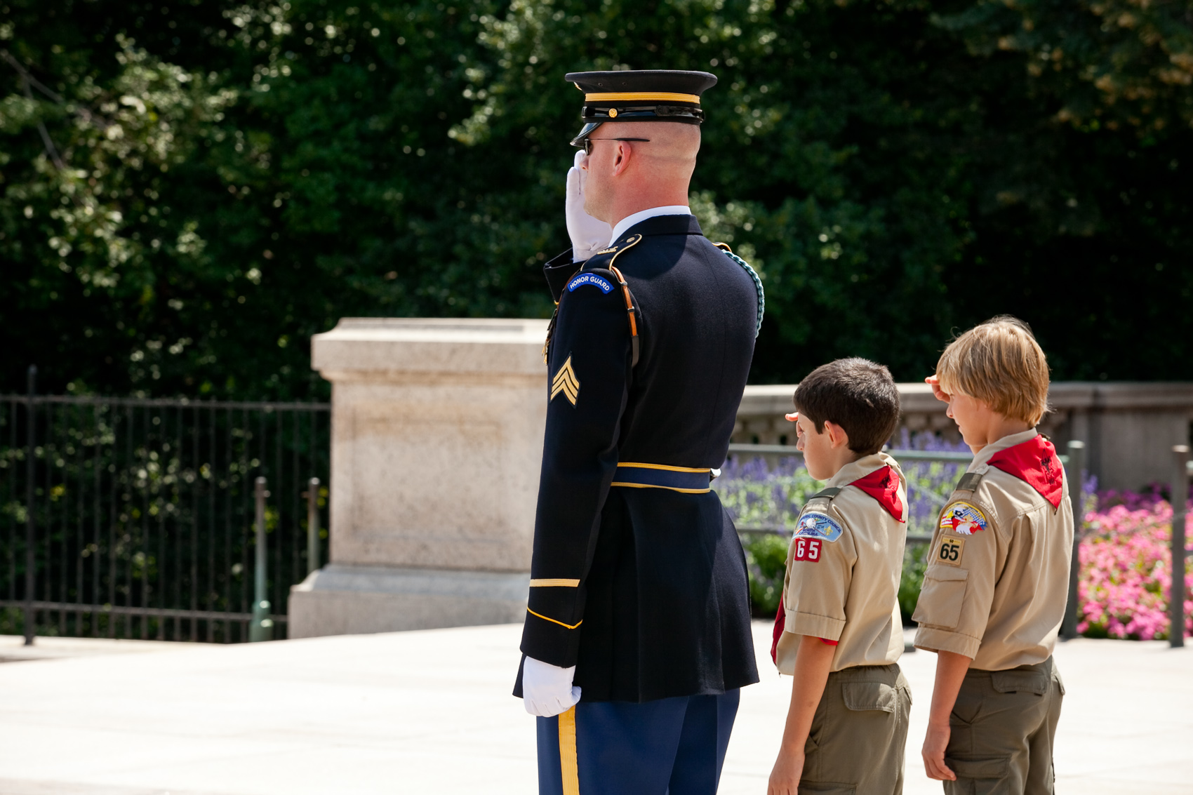 Special Ceremony at the Tomb of the Unknowns in Washington, DC | J. Eldon Zimmerman Photography | Lancaster, PA Commercial Photographer