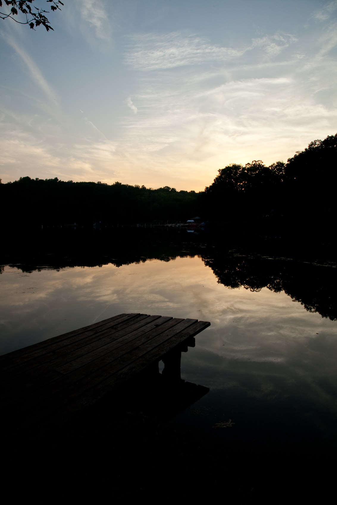 Sunset over Conewago Lake in Mount Gretna, PA | J. Eldon Zimmerman Photography | Lancaster, PA Commercial Photographer