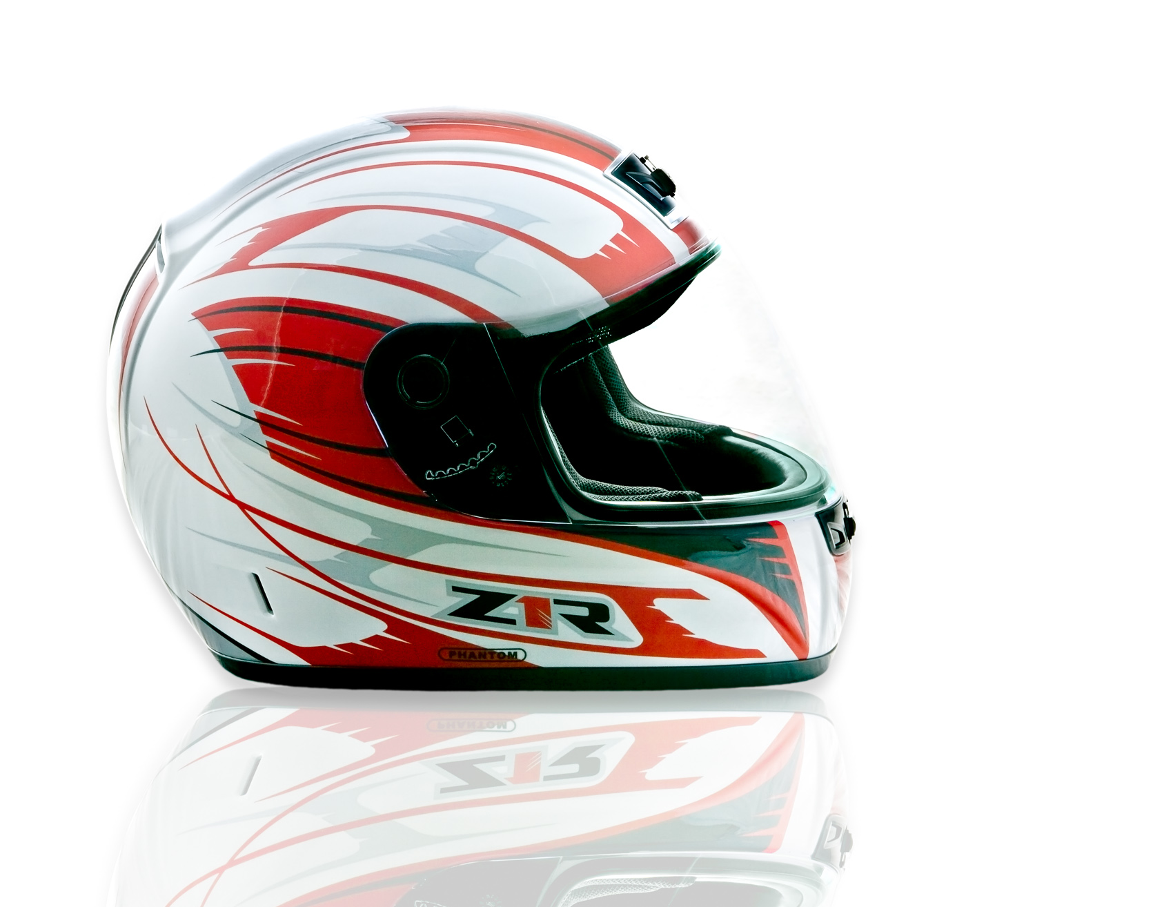Studio Photograph of Z1R Helmet | J. Eldon Zimmerman Photography | Lancaster, PA Commercial Photographer