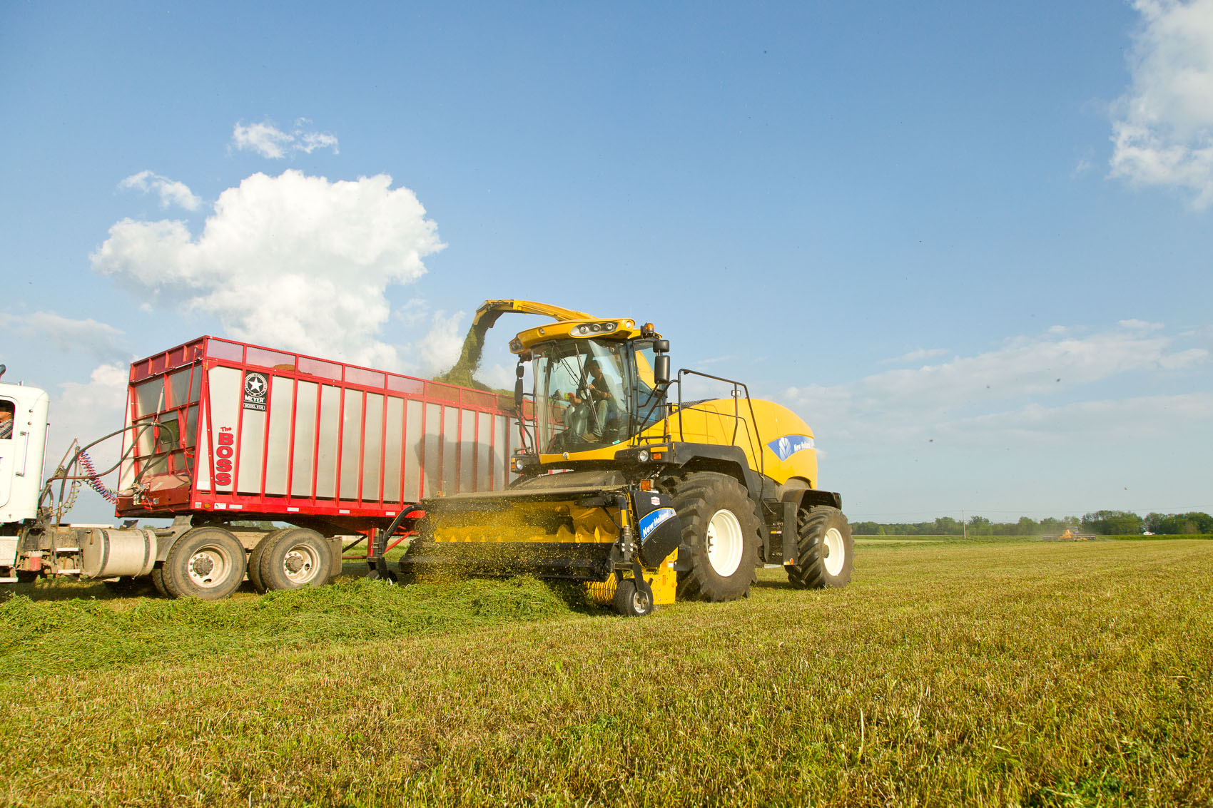 New Holland FR9080 Forage Harvestor | J. Eldon Zimmerman Photography | Lancaster, PA Agriculture Photographer