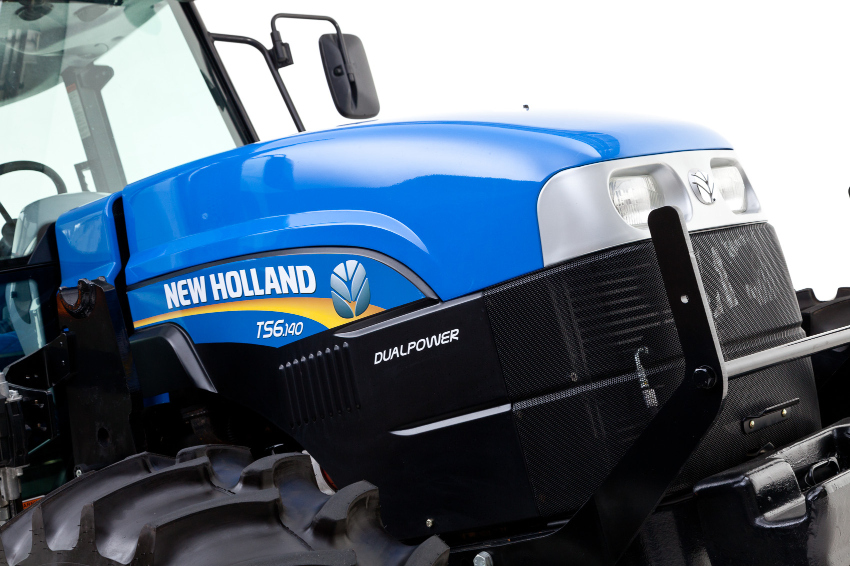 New Holland TS6.140 DualPower Tractor | J. Eldon Zimmerman Photography | Lancaster, PA Agriculture Photographer