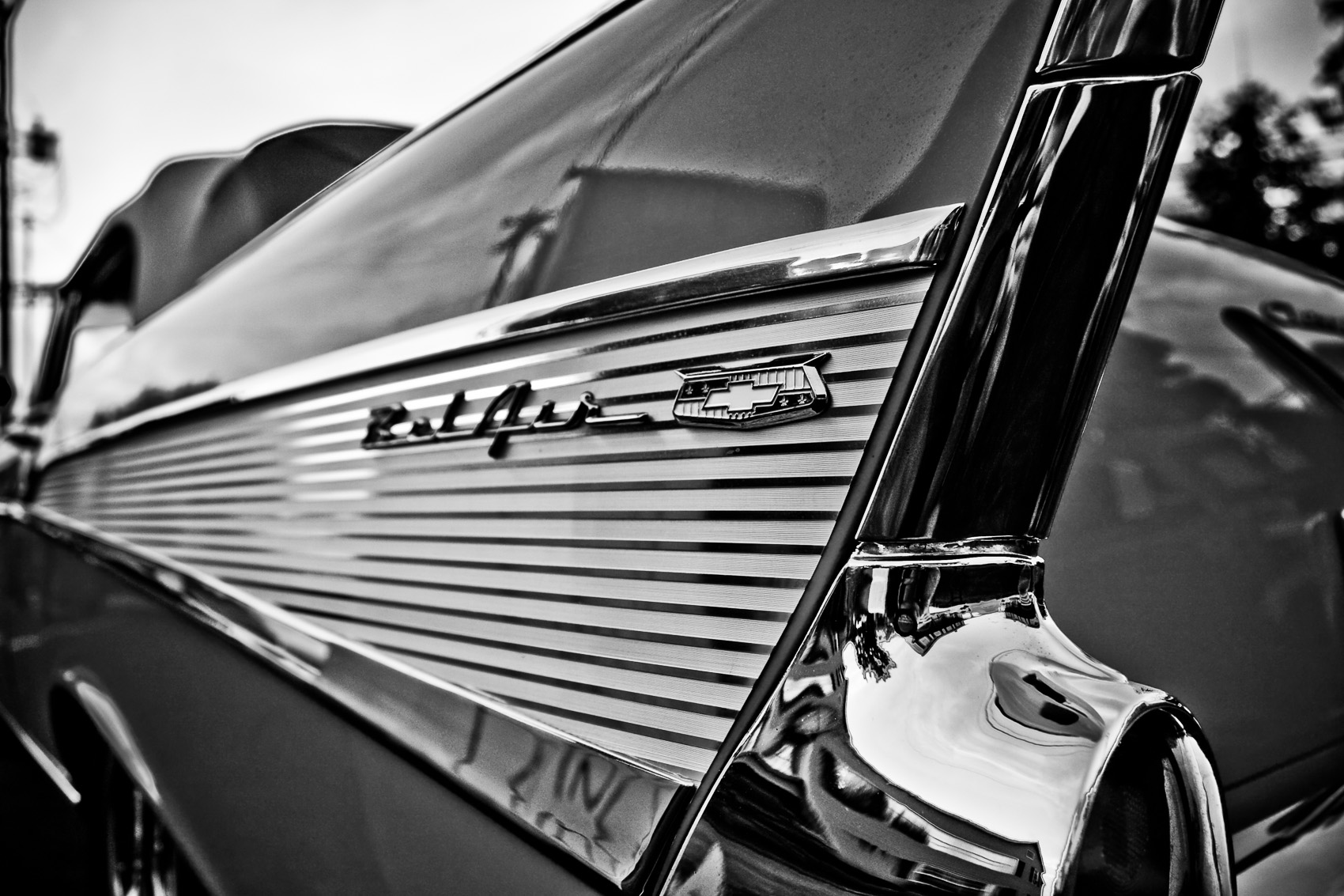 Detail of a Vintage 57 Chevy Bel Air | J. Eldon Zimmerman Photography | Lancaster, PA Commercial Photographer