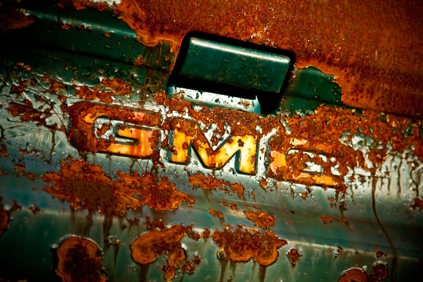 Detail of an Unknown Year and Model GMC Truck | J. Eldon Zimmerman Photography | Lancaster, PA Commercial Photographer